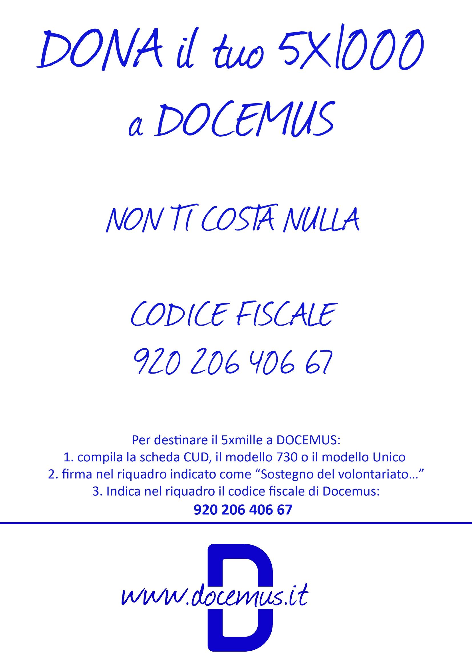 DOCEMUS 5xmille